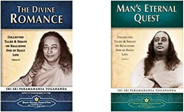 Man's Eternal Quest + The Divine Romance: Collected Talks and Essays on Realizing God in Daily Life (Vol 1 & 2)(Set of 2 B...