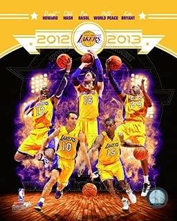 NBA Los Angeles Lakers 2012-2013 Team Composite Photo 8x10