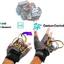 Emakefun Gesture-Motion Starter Kit for Arduino Nano V3.0 Support Robot Smart Car with MPU6050 6 Axis Accelerometer Gyroscope Module,NRF24L01+ Wireless Module,Bluetooth Module