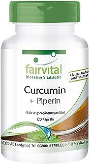 Gurkmejakapslar - 500 mg gurkmejaextrakt per kapsel - HÖGDOSERAD - Curcumin 95% med bioperin (piperin) - 120 kapslar