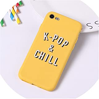 Cartoon Color Back Cover Letter Quote Soft Phone Case Fundas for iPhone 7 Plus 7 6Plus 8 8Plus X Xs Max,9,for iPhone Xs Max