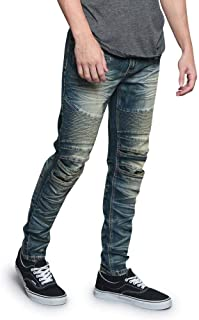 Victorious Ribbed Thigh Biker Moto Style Bottoms