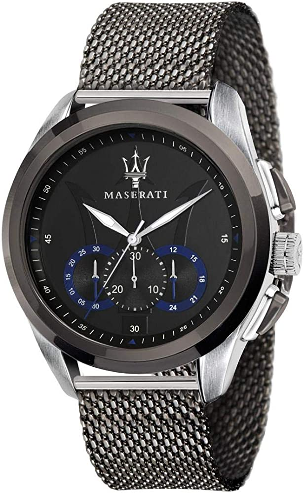 Maserati orologio da uomo, collezione traguardo cronografo, in acciaio inossidabile 8033288795117