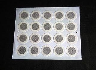 直径40ミリ シール付きメッシュ特殊フィルター 20枚×10セット(200枚) クリアボトル交換用