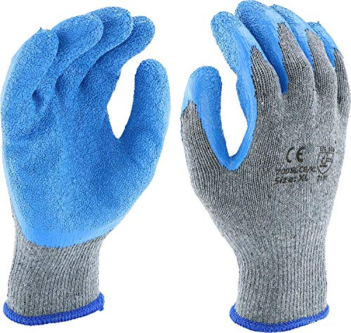 West Chester Latex Coated String Knit Medium Multi-purpose Gloves