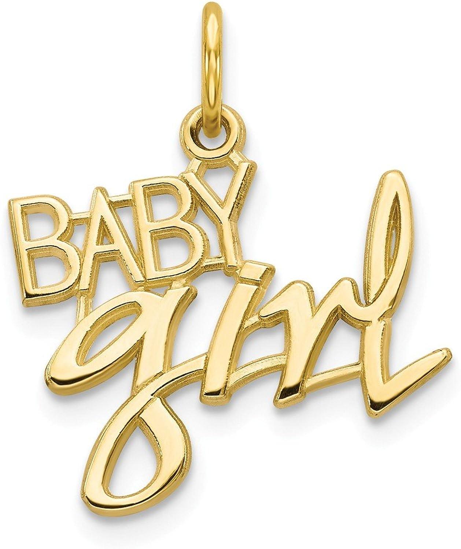 Beautiful Yellow gold 10K Yellowgold 10k Baby Girl Charm