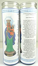 Gifts by Lulee, LLC Santa Barbara Africana Lucumi Santeria Mama Mambo Ezili Danto Haitian Vodou Sets De 2 O 4 Velas (2) (2)