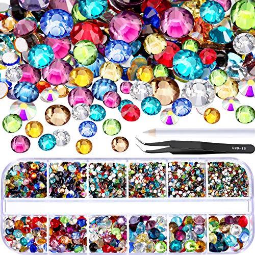 multi colored crystal - 8