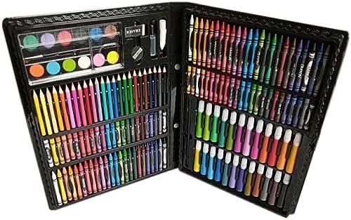 estar en gran demanda Zhenfa Regalo de 168 Piezas Piezas Piezas Set de papelería Acuarela lápiz Infantil Pintura Sistema portátil  la calidad primero los consumidores primero