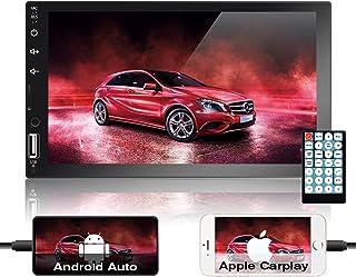 $120 » Podofo 2 Din Car Stereo Radio 7'' Apple CarPlay AndroidAuto HD Capacitive Touch Screen Support Bluetooth/Handsfree Callin...