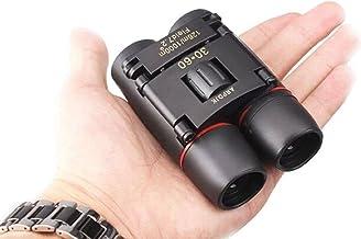 30×60 Kompakt Mini Fernglas Nachtsicht kraftvolles Faltteleskop mit Reinigungstuch..
