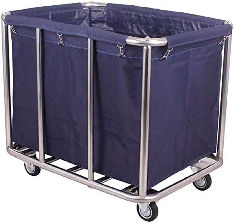 WWFF Laundry Sorter Overseas In stock parallel import regular item Cart Heavy-Duty Trolley Serving