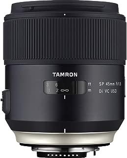 Tamron SP 45mm F/1.8 Di VC USD w/Hood for Nikon Cameras (Tamron 6 Year Limited USA Warranty)