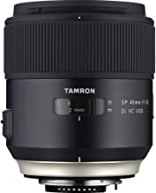 Tamron SP 45mm F/1.8 Di VC USD w/Hood for Nikon Cameras (Tamron 6 Year Limited USA Warranty)
