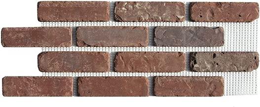 Brickweb Thin Brick Box of Little Cottonwood Flat Sheets Ft. 8.7 Sq