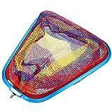 POPETPOP Red de Pesca con Marco de Aleación Rojo de Pesca Resistente a La Rotura Cabeza de La Red de Captura de Peces para La Captura de Aterrizaje de Liberación