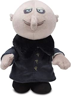 Cuddle Barn | Addams Family Animated Plush Collectible | Fun Walking Doll Toy for Movie Fans and Halloween | Plays The Addams Family Theme Song … (Uncle Fester Runner)