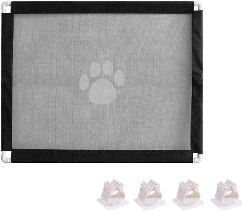 Magic Gate Dog Safe Guard,Portable Mesh Pet Gate Screen Folding Safe Guard
