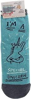Women's Novelty Ankle Sock I'm A Special Unicorn Women's Shoe Size 5-10, Small
