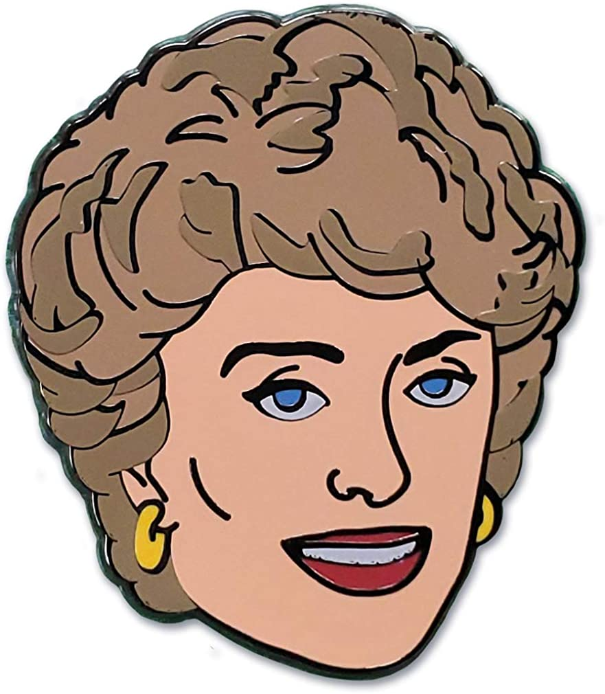 Max 68% OFF Ata-Boy Golden Girls Blanche Popular Officially Keychain a Licensed Pin
