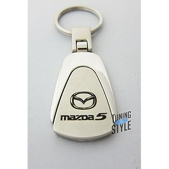 Teardrop Mercury Monterey Keychain /& Keyring