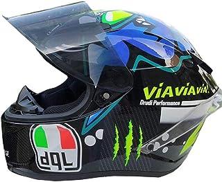 <h2>WQLESO Mens-Frauen-Art und Weise kühle Shark Motocross Helm, Lokomotive Racing Mountain Bike ATV Karting Scooter Vollvisierhelm, DOT Certified Helm</h2>