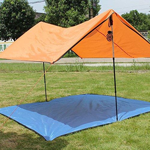 Uhmei 200 x 200 cm Couverture de pique-nique extérieur étanche Tapis de pique-nique Pare-soleil pour auvent