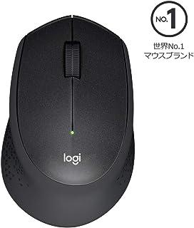 Logicool ロジクール M331BK ワイヤレスマウス 無線 静音 3ボタン 電池寿命最大24ケ月 M331 ブラック 国内正規品 2年間無償保証