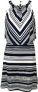 Jessica Simpson Women's Stripe Ity Popover Dress