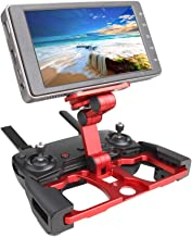 Aluminum Foldable Tablet Stand Holder Extender Remote Controller Holder with Lanyard Support Crystal Sky Monitor Compatible for DJI Mavic Air / Mavic Pro/Mavic 2 / Zoom/ Mini / Spark Remote Controller
