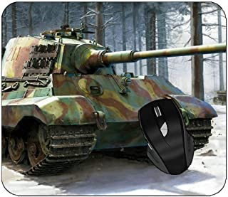 Office Mouse Pad Tiger Tank Art Gaming Mouse Pad