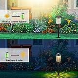 Zoom IMG-1 luci solari per giardino da