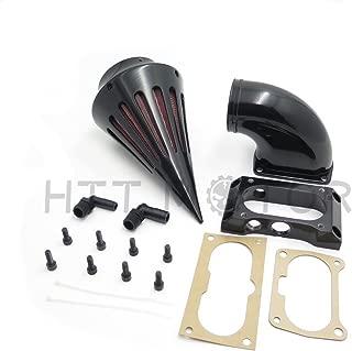 SMT MOTO- Motorcycle Spike Air Cleaner Filter For Kawasaki Vulcan 2000 Vn2000 Classic Lt Black New