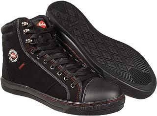 Lee Cooper Workwear SB Boot - Zapatillas unisex, color black, talla 44