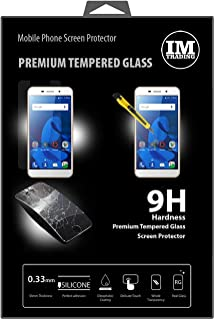 cofi1453 Premium härdat skyddsglas kompatibel med ZTE Blade A602 pansar hårt glas skydd glas extremt reptåligt säkerhetsglas