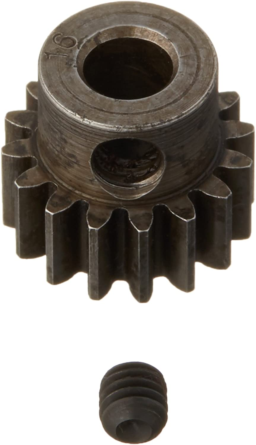 Robinson Racing 8716 Pinion Gear Xtra Hard 5mm 8 Mod 16T, 8716