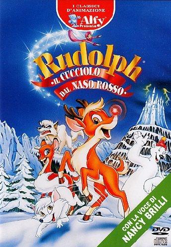 Rudolph - Il cucciolo dal naso rosso(+CD)