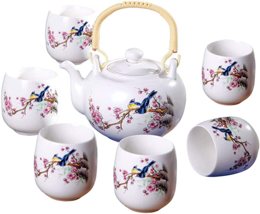 Fashion FORLONG FL5011 7 Ranking TOP14 Piece Vintage Style Handmade Porcelain Chinese
