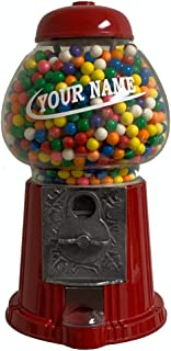 Personalized King Gumball Machine