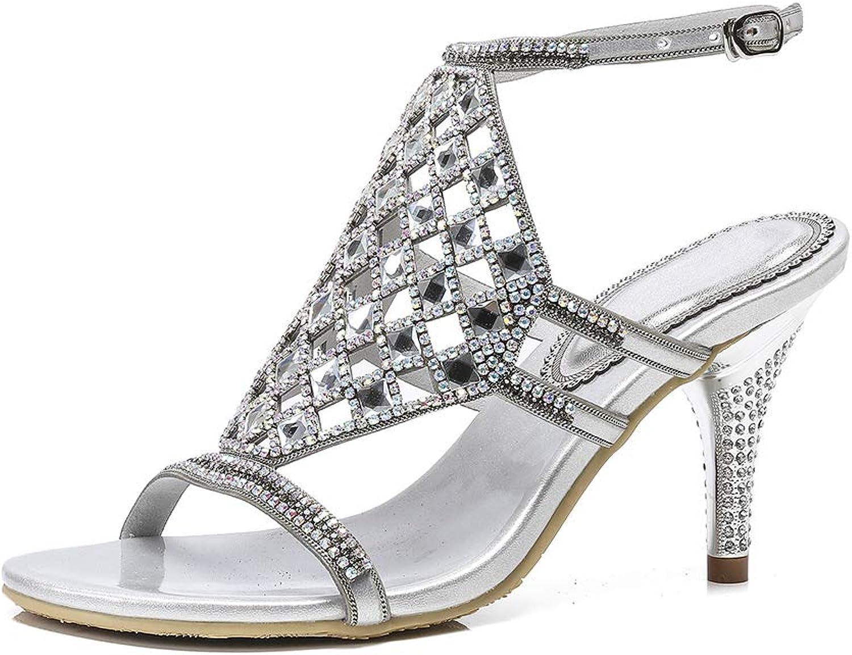 Ladies Sandals Heel shoes Platform Wedge Open Toe Ankle Strappy Slipper
