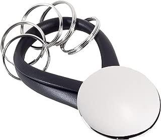 Bey-Berk BB93S Nickel Plated Mini Light /& Bottle Opener Key Ring Grey