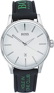Hugo Bossadultanalogue Classic Quartz Watch With Silicone Strap 1512884, For Unisex