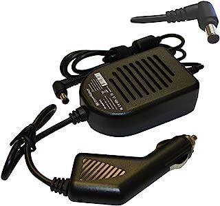 Power4Laptops DC Adapter Laptop Car Charger for Sony Vaio VGN-NW180J/S, Sony Vaio VGN-NW180JS, Sony Vaio VGN-NW1S, Sony Vaio VGN-NW200, Sony Vaio VGN-NW20EF/P