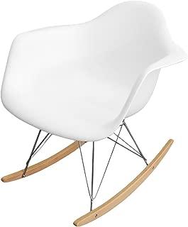 Eiffel Rocking Arm Chair (White)