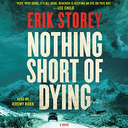 Nothing Short of Dying audiobook cover art