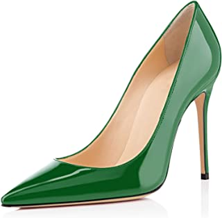 c8cee967de9128 elashe - Escarpins Femme - 10cm Sexy Talon Aiguille - Stiletto Soir Fête  Chaussures