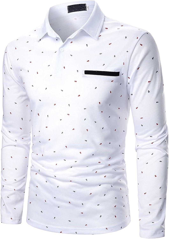 Mens Long Sleeve Thermal Shirts Dress Shirts Mens Sweatshirt Mens Workout Shirts Tee Shirts for Men Collared Dress Shirt