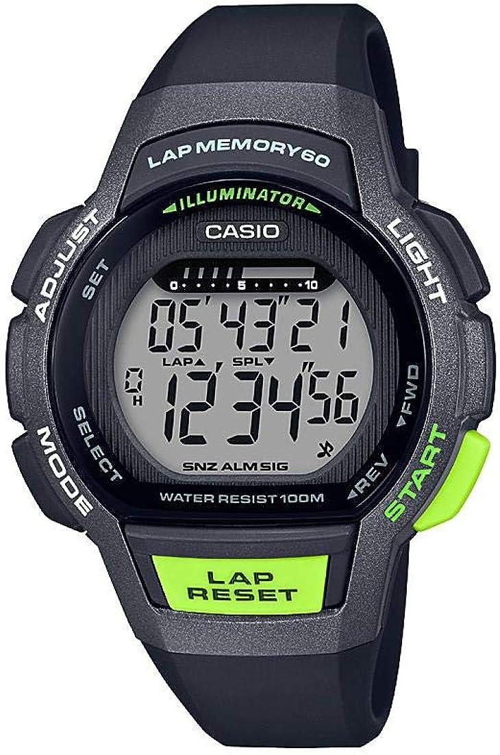 Portland Mall Casio Women's Detroit Mall Runner Series Quartz Watch Resin with Stra Running