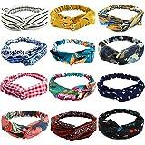 12 Pieces Women Headbands, Vinta...