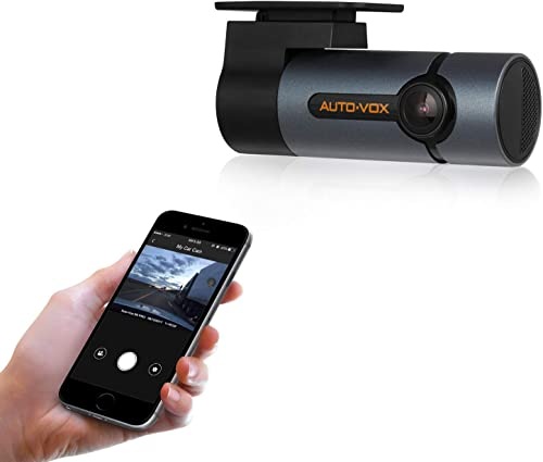 AUTO-VOX Upgraded WiFi Dash Cam D6 Pro FHD 1080P Dashboard Camera Recorder Car Dash Cam with Super Night Vision,G-Sen...